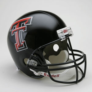 Texas Tech Red Raiders Replica Riddell Helmet